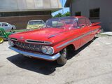 BEAUTIFUL 1959 CHEVROLET IMPALA 2DR HT