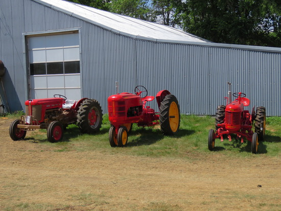 Antique Tractors, Trucks, and more.