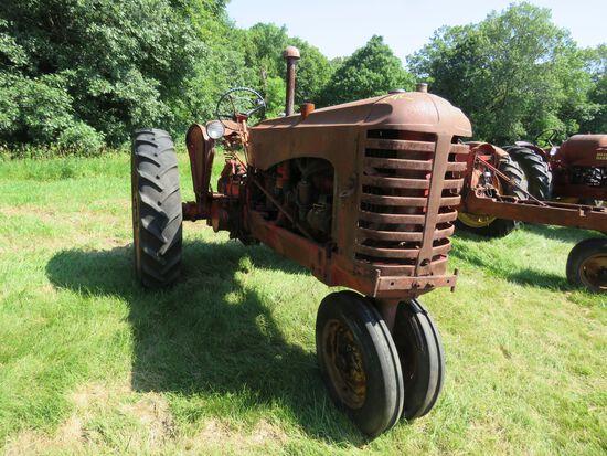 Massey Harris Diesel Tractor