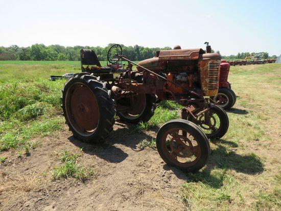 1939 Farmall A Hi-Crop Tractor