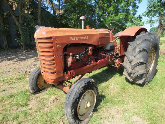 Massey Harris 555 Tractor