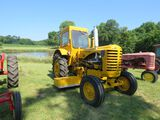 1956 Massey Harris I244 Tractor with Sabre Magnetic Sweeper