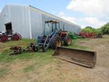 Versatile 256 Bi-Directional Tractor with Bucket-WORK SAVER TREE SHEAR NOT NOT INCLUDED