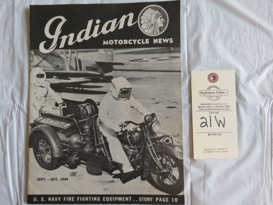 Sept.- Oct. 1944 Indian Motorcycle News