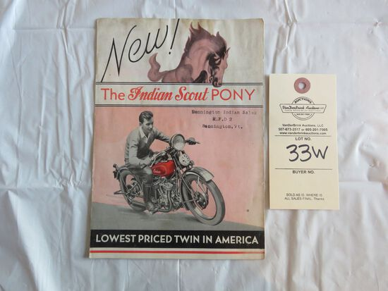 Indian Scout Pony Brochure