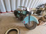 1947 Indian Chief V-Twin Motorcycle