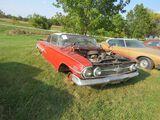 1960 Chevrolet Impala Bubbletop 2dr HT Project