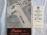 Indian Package Express Brochure/Poster