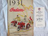 1931 Indian Motorcycles Brochure