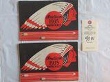 Lot of 2 1935 Indian Motorcycle Brochures