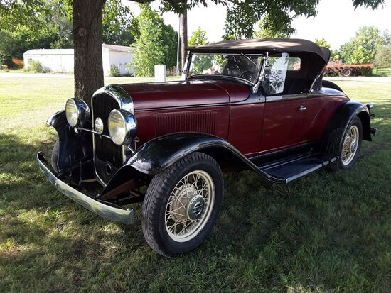 1931 Plymouth Sport Roadster