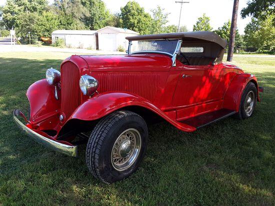 1932 Plymouth Sport Roadster Street rod