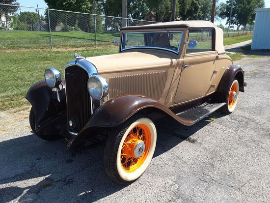 1932 Plymouth Convertible Coupe