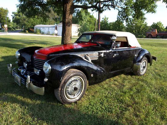 1970 Cord Roadster Replica