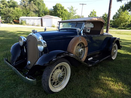 1932 Plymouth Sport Roadster