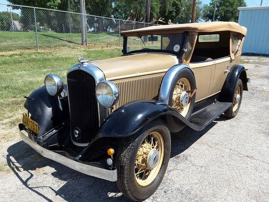 1932 Plymouth RHD 4dr Phaeton