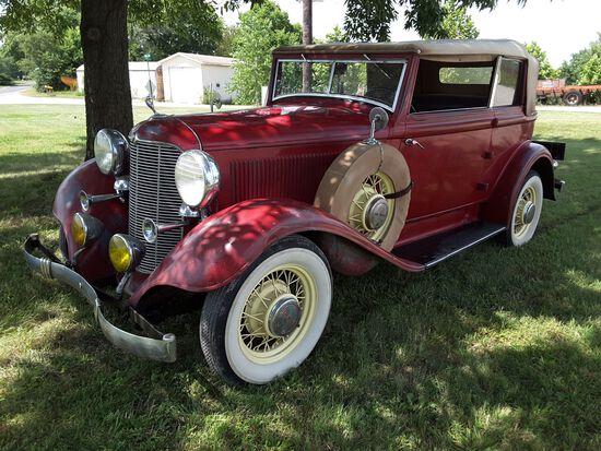 1932 Desoto Custom Convertible Sedan Deluxe