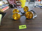 Pair Yellow Lights