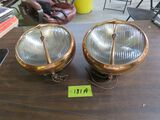 Pair 1932 Desoto Lights