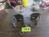 1920's Side Mount Mirrors