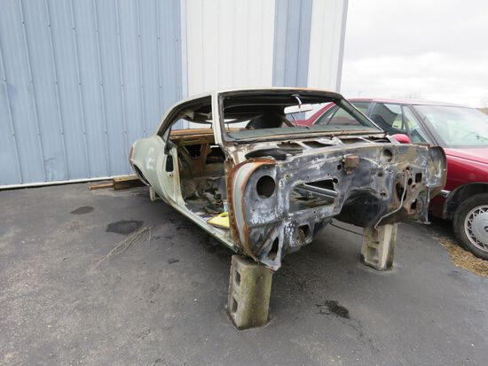 1969 Pontiac Firebird Body