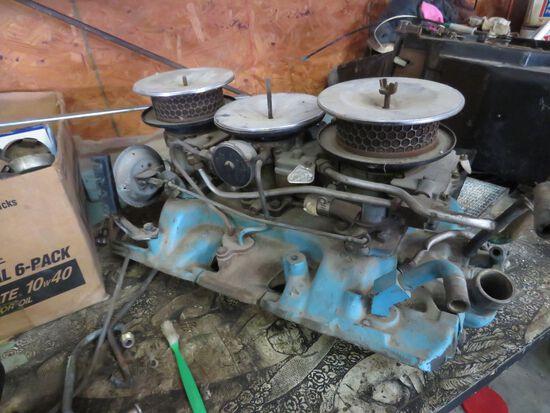 Pontiac Tri-Power for 389