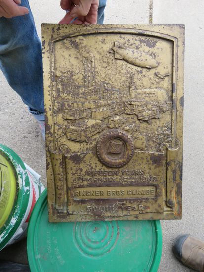 Goodyear Ringer Brothers Plaque
