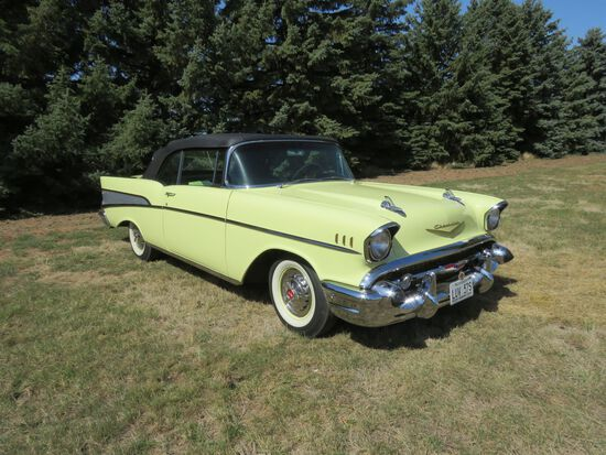 Amazing 1957 Chevrolet Bel Air Convertible