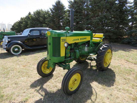 Rare 1960 John Deere 330 Tractor
