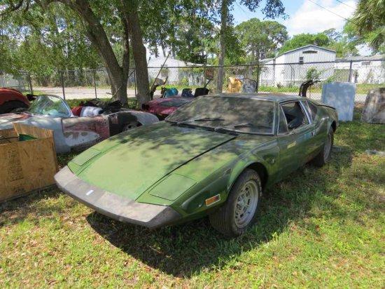 1973 Ford DeTomaso Pantera Coupe