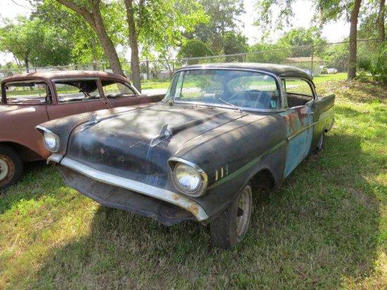 1957 Chevrolet 2dr Hard Top Project VC57B16301 CC #5-