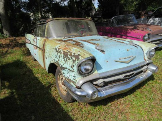 1957 Chevrolet Convertible Project CC #5-