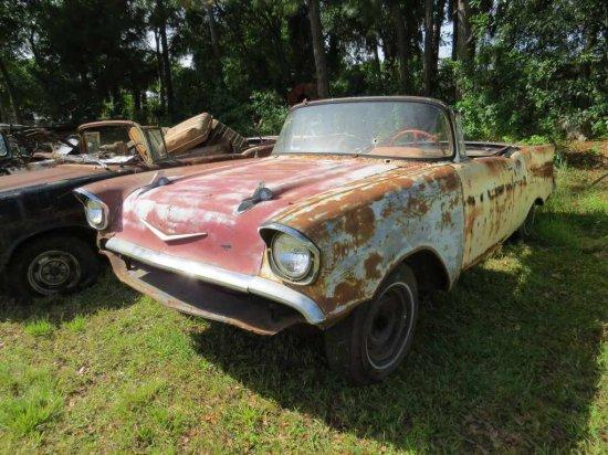 1957 Chevrolet Convertible Project VC57A112012 CC #5-