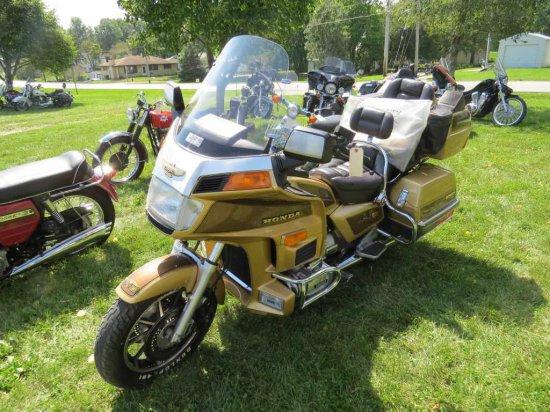 1985 Honda Gold Wing GL-1200L Motorcycle