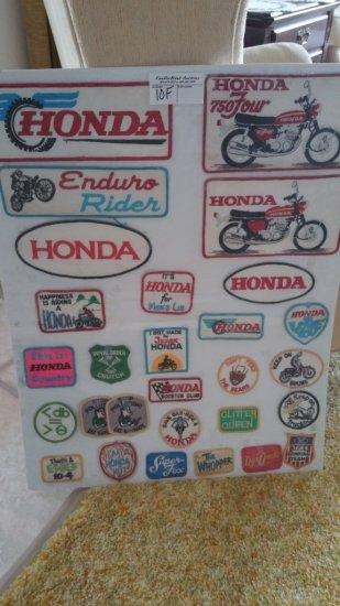 Vintage Honda Patches