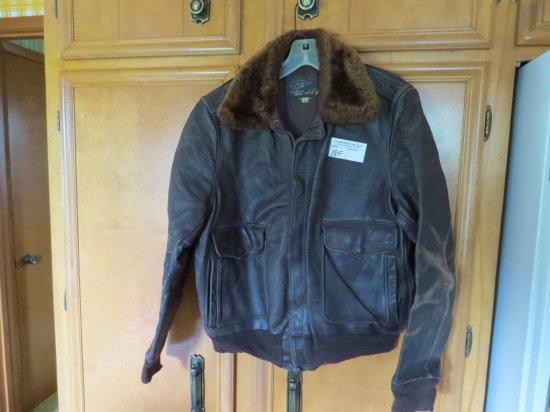 Vintage Bomber's Leather Jacket