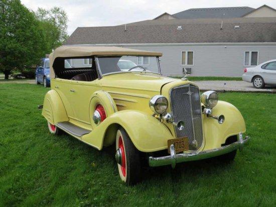 1934 Chevrolet Master Phaeton     Auctions Online | Proxibid