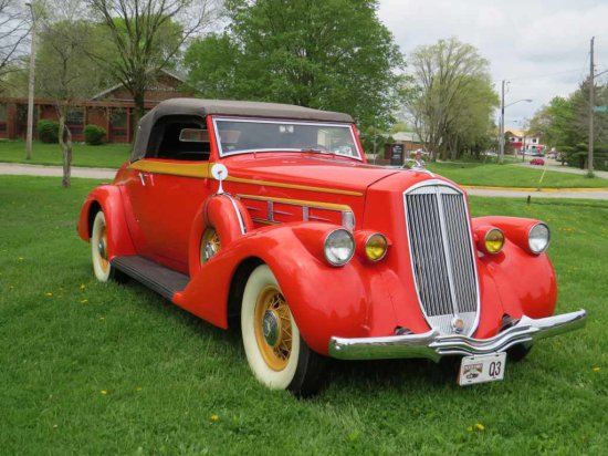 1936 Pierce Arrow Country Club 2dr Roadster