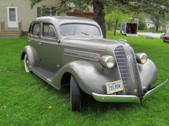 1936 Graham Supercharged 4dr Sedan