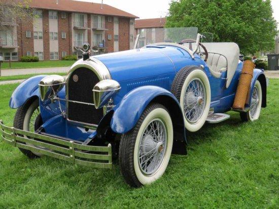 1925 Kissel Model 75 Gold Bug Speedster