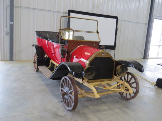 1912 Overland Model 51 4dr Touring Car