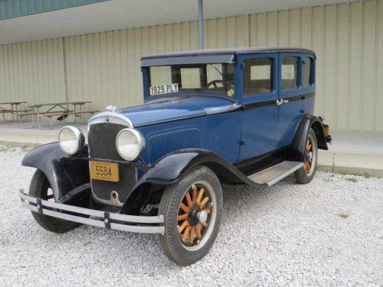 1929 Plymouth 4dr Sedan