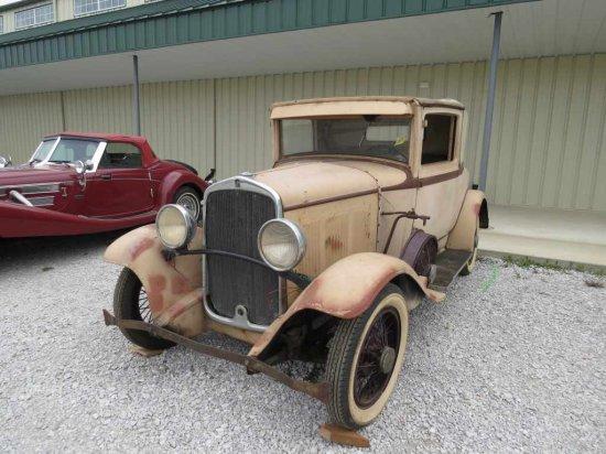 1929 DeSoto Sport Coupe
