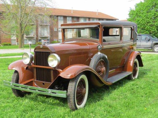 1929 Oldsmobile Landau 4dr Sedan