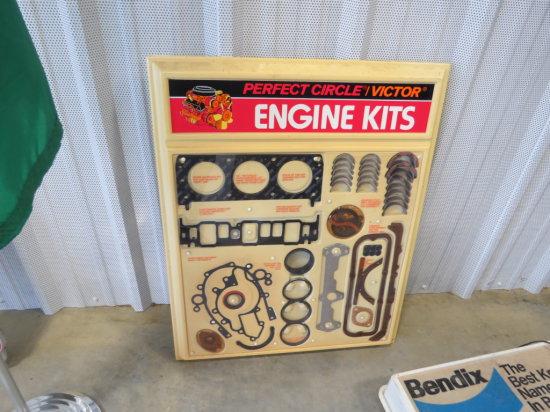 PERFECT CIRCLE ENGINE KIT DISPLAY