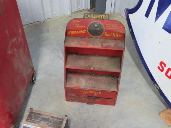 Carter Carburetor Cabinet