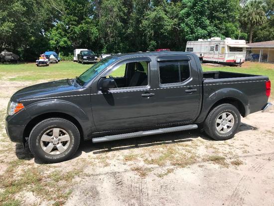 2012 Nissan Frontier Pickup Truck, VIN # 1N6AD0ER0CC459061