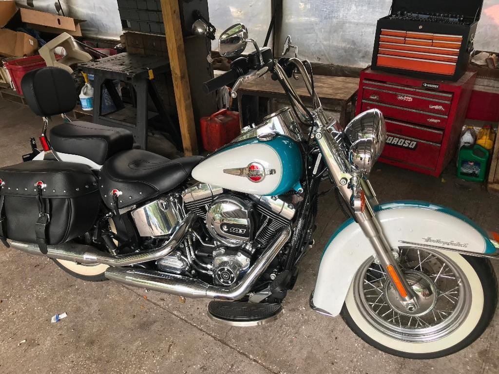 2016 Harley-Davidson FLSTC103 Motorcycle, VIN # 1HD1BWV19GB023826