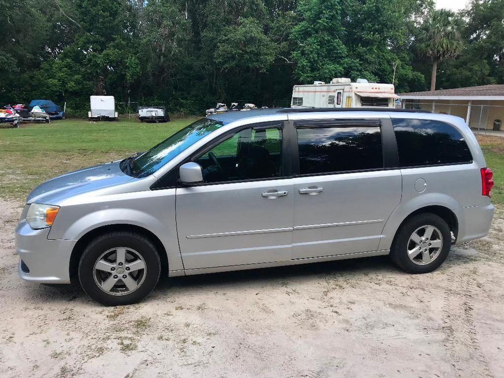2011 Dodge Grand Caravan Van, VIN # 2D4RN3DG6BR700960