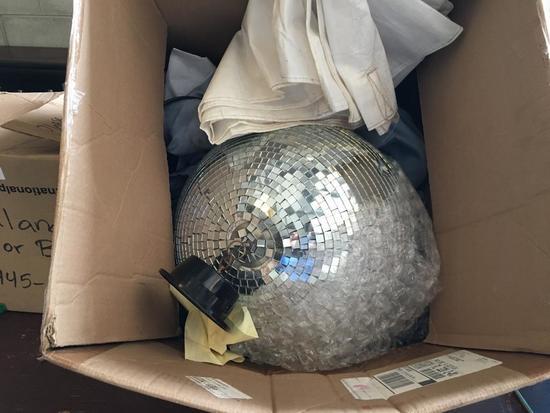 Large Mirrored Disco Ball